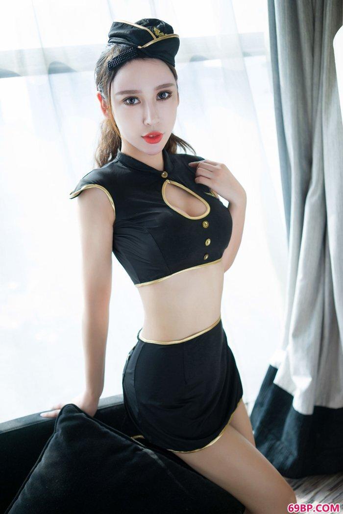 绝色御姐杨诺依制服丰臀诱惑艺术照_西西人体高清大但韩国66
