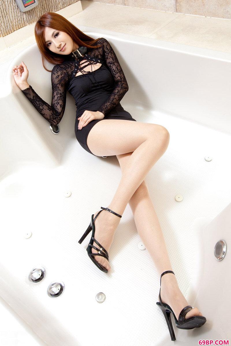 美腿超模第212期Vicni_林志玲人体艺术