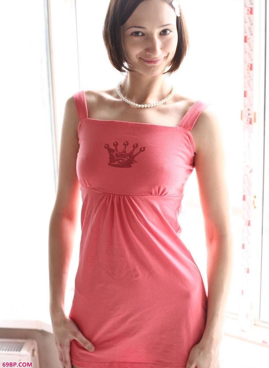 美模米哈伊尔阳台上的勾魂美体1