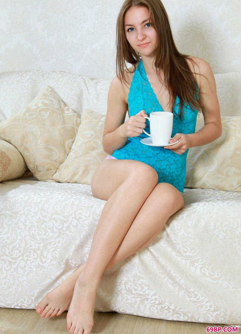 咖啡时光年轻姑娘Izabel